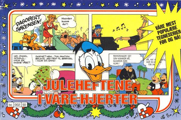 Cover for Juleheftene i våre hjerter (Hjemmet / Egmont, 1989 series)