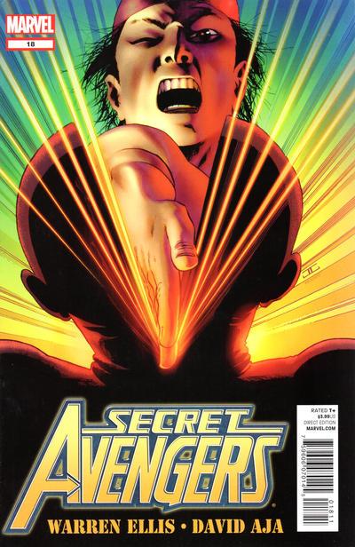 Cover for Secret Avengers (Marvel, 2010 series) #18 [Direct Market Variant Cover]