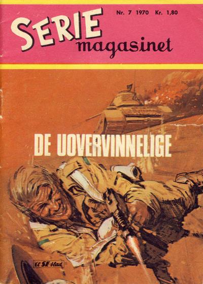 Cover for Seriemagasinet (Serieforlaget / Se-Bladene / Stabenfeldt, 1951 series) #7/1970