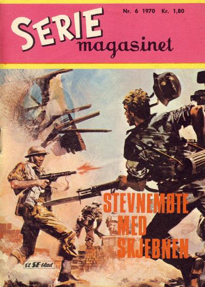 Cover for Seriemagasinet (Serieforlaget / Se-Bladene / Stabenfeldt, 1951 series) #6/1970