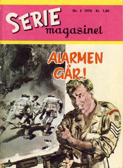Cover for Seriemagasinet (Serieforlaget / Se-Bladene / Stabenfeldt, 1951 series) #5/1970