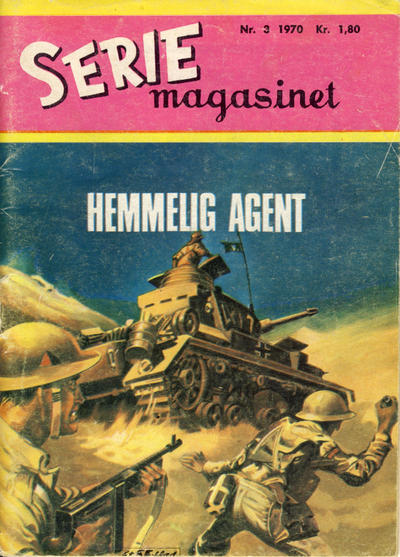 Cover for Seriemagasinet (Serieforlaget / Se-Bladene / Stabenfeldt, 1951 series) #3/1970
