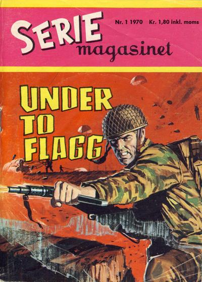 Cover for Seriemagasinet (Serieforlaget / Se-Bladene / Stabenfeldt, 1951 series) #1/1970