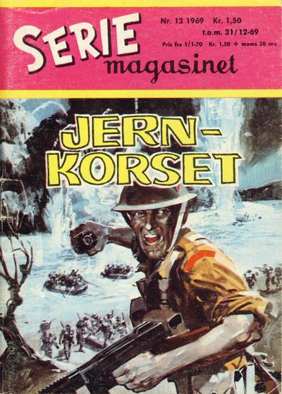 Cover for Seriemagasinet (Serieforlaget / Se-Bladene / Stabenfeldt, 1951 series) #12/1969