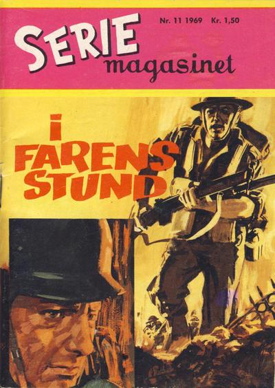 Cover for Seriemagasinet (Serieforlaget / Se-Bladene / Stabenfeldt, 1951 series) #11/1969