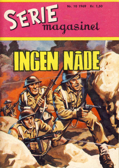 Cover for Seriemagasinet (Serieforlaget / Se-Bladene / Stabenfeldt, 1951 series) #10/1969
