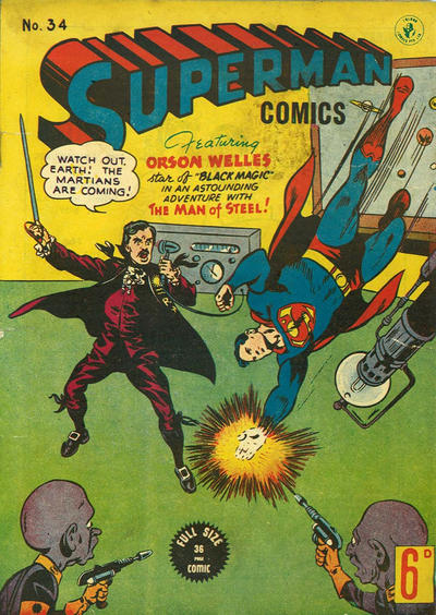 Cover for Superman (K. G. Murray, 1947 series) #34