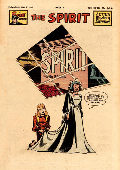 Cover for The Spirit (Register and Tribune Syndicate, 1940 series) #5/2/1948