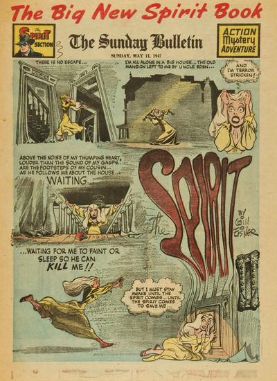 Cover for The Spirit (Register and Tribune Syndicate, 1940 series) #5/11/1947