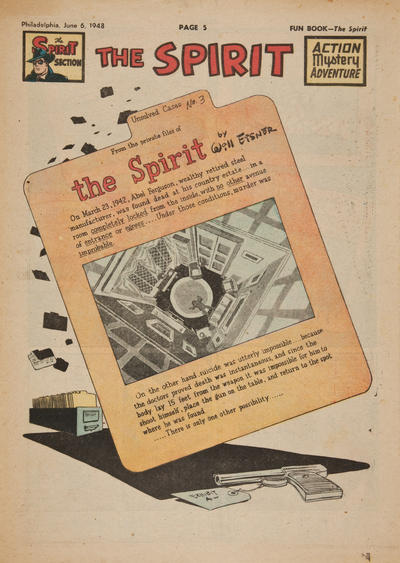 Cover for The Spirit (Register and Tribune Syndicate, 1940 series) #6/6/1948