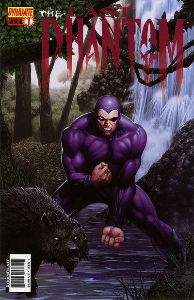 Cover for The Last Phantom Annual (Dynamite Entertainment, 2011 series) #1 [Cover A]