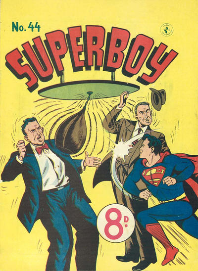 Cover for Superboy (K. G. Murray, 1949 series) #44 [Price difference]