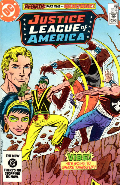 Cover for Justice League of America (DC, 1960 series) #233 [Newsstand Variant]