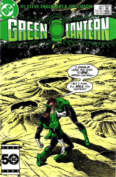 Cover for Green Lantern (DC, 1960 series) #193 [Canadian]