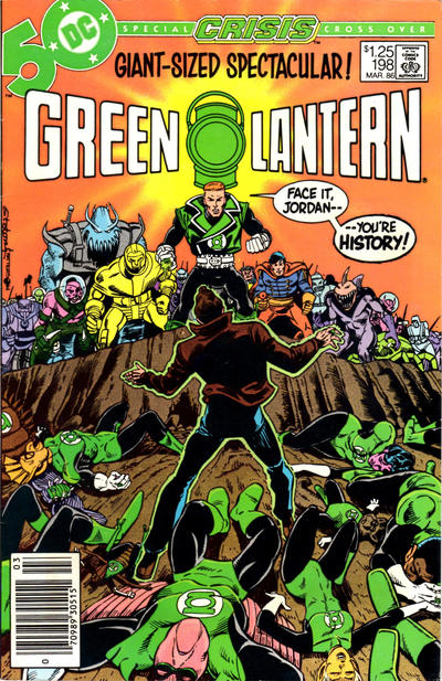 Cover for Green Lantern (DC, 1976 series) #198 [Newsstand Edition]