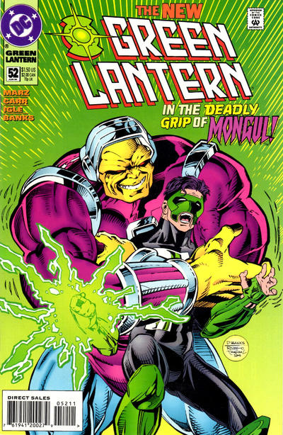 Cover for Green Lantern (DC, 1990 series) #52 [DC Universe Variant]