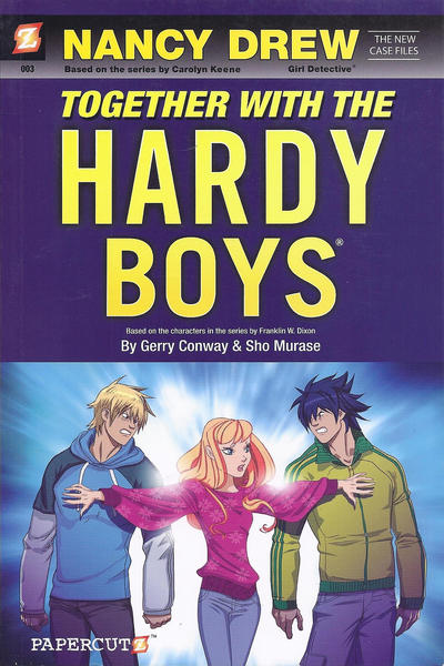 Cover for Nancy Drew: The New Case Files (NBM, 2010 series) #3 - Together with the Hardy Boys