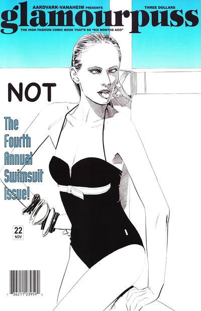 Cover for glamourpuss (Aardvark-Vanaheim, 2008 series) #22