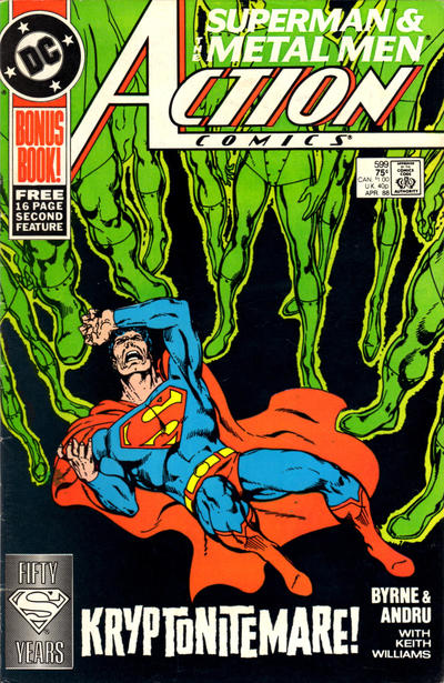 Cover for Action Comics (DC, 1938 series) #599 [Direct]