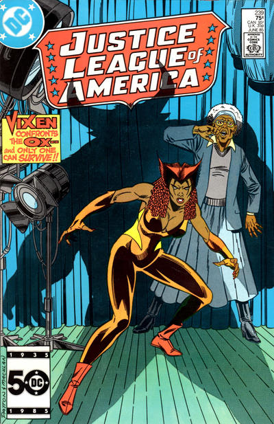 Cover for Justice League of America (DC, 1960 series) #239 [Direct Sales (Comic Book Stores)]
