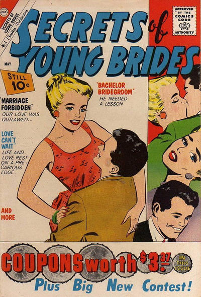 Cover for Secrets of Young Brides (Charlton, 1957 series) #25