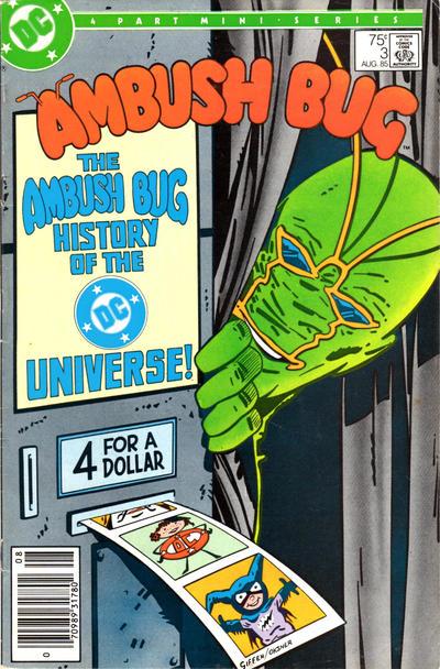 Cover for Ambush Bug (DC, 1985 series) #3 [Direct Sales]