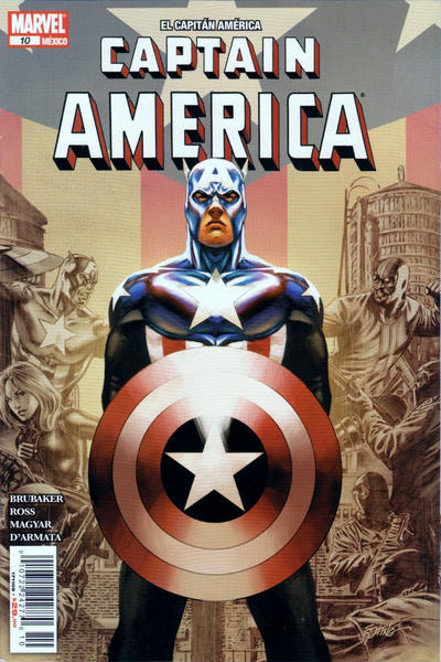Cover for El Capitán América, Captain America (Editorial Televisa, 2009 series) #10
