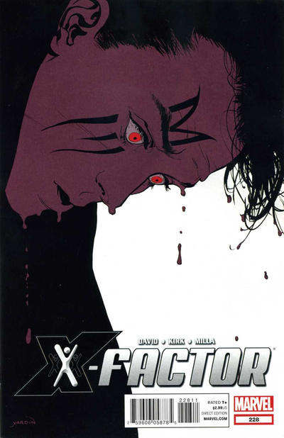 Cover for X-Factor (Marvel, 2006 series) #228