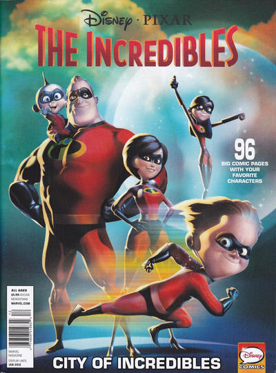 Cover for Disney-Pixar/Muppets Presents: Incredibles - City of Incredibles (Marvel, 2012 series) #7