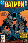 Cover for Batman (DC, 1940 series) #402 [No Cover Date - History of the DC Universe UPC]