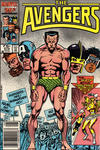 Cover Thumbnail for The Avengers (1963 series) #270 [Newsstand Edition]