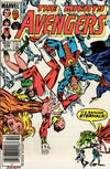 Cover Thumbnail for The Avengers (1963 series) #248 [Newsstand Edition]