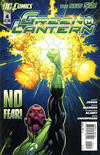 Cover for Green Lantern (DC, 2011 series) #4
