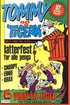 Cover for Tommy og Tigern (Bladkompaniet / Schibsted, 1989 series) #2/1989