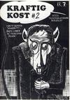 Cover for Kraftig kost (Norsk Tegneserieforum, 1985 series) #2