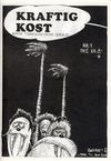 Cover for Kraftig kost (Norsk Tegneserieforum, 1985 series) #4