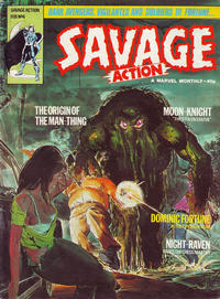 Cover Thumbnail for Savage Action (Marvel UK, 1980 series) #4