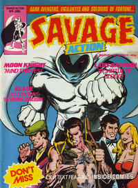 Cover Thumbnail for Savage Action (Marvel UK, 1980 series) #8