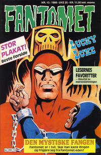 Cover Thumbnail for Fantomet (Semic, 1976 series) #13/1989