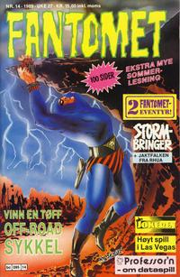 Cover Thumbnail for Fantomet (Semic, 1976 series) #14/1989