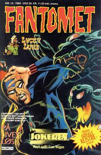 Cover Thumbnail for Fantomet (Semic, 1976 series) #15/1989