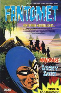 Cover Thumbnail for Fantomet (Semic, 1976 series) #16/1989