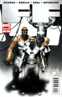 Cover Thumbnail for FF (Marvel, 2011 series) #12 [Direct Market Variant by Gabriele Dell'Otto]
