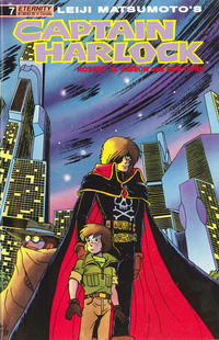 Cover Thumbnail for Captain Harlock (Malibu, 1989 series) #7