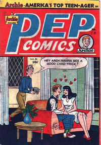 Cover Thumbnail for Pep Comics (Bell Features, 1948 series) #70