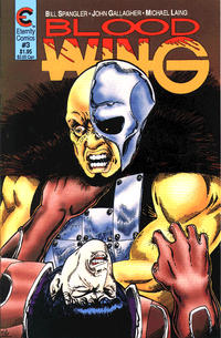 Cover Thumbnail for Blood Wing (Malibu, 1988 series) #3