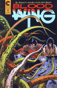 Cover Thumbnail for Blood Wing (Malibu, 1988 series) #2
