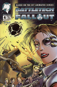 Cover Thumbnail for Battletech: Fallout (Malibu, 1994 series) #4