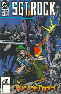Cover Thumbnail for Sgt. Rock (DC, 1991 series) #19 [Direct Sales]
