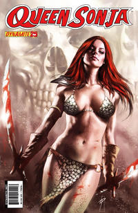 Cover Thumbnail for Queen Sonja (Dynamite Entertainment, 2009 series) #25 [Lucio Parrillo Cover]